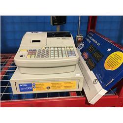 ROYAL ALPHA 580 CASH REGISTER & LED OPEN SIGN - KEYS IN OFFICE