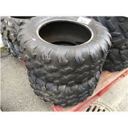 PAIR OF MAXXIS ATV TIRES