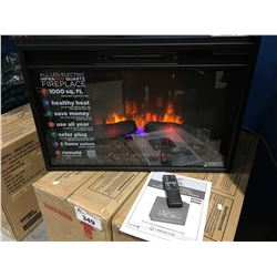 BELL'O ALL  LED ELECTRIC INFRARED QUARTZ FIREPLACE