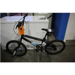 BLACK HUFFY BRAZEN BMX BIKE