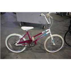 PINK/WHITE NORCO MIRAGE CRUSIER BIKE