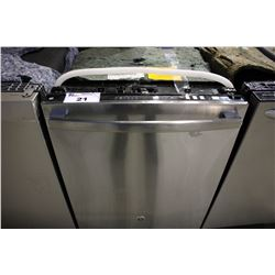 GE STAINLESS STEEL BUILT- IN DISHWASHER