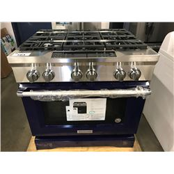 "NEW KITCHENAID 36"" COMMERCIAL STYLE GAS RANGE"