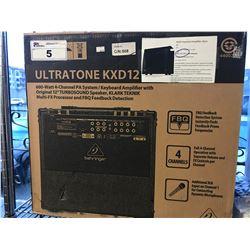 ULTRATONE KXD12 KEYBOARD AMPLIFIER