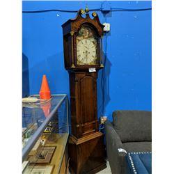 ORNATE MAHOGANY GRANDFATHER CLOCK - CIRCA 1850'S