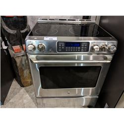 GE CAFE STAINLESS STEEL CERAMIC TOP OVEN