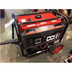 POWERTEK DG9250E ELECTRIC START GAS GENERATOR - 7500 RUNNING WATTS