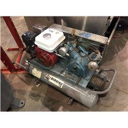 AIRKING WHEELBARROW PORTABLE GAS AIR COMPRESSOR WITH HONDA 5.5 HP MOTOR
