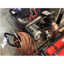 HEAVY DUTY ELECTRIC AIR COMPRESSOR WITH HOSE & BLOW GUN