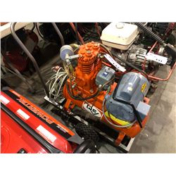DEVILBISS HEAVY DUTY AIR COMPRESSOR WITH BALDOR MOTOR