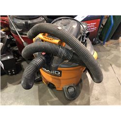 RIDGID SHOP VACUUM WITH LEAF BLOWER
