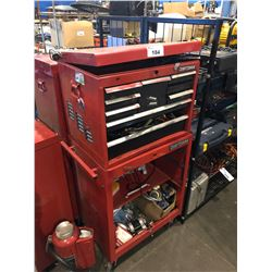 CRAFTSMAN 9 DRAWER TOOL CHEST WITH CABINET & CONTENTS