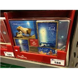 CASE OF 320 DAYSPRING CHRISTMAS CARDS