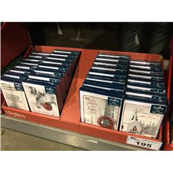 CASE OF 576 DAYSPRING CHRISTMAS CARDS