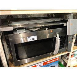 SAMSUNG OVER RANGE STAINLESS STEEL MICROWAVE WITH TRIM KIT