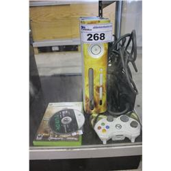 XBOX 360 CONSOLE WITH CONTROLLER, WHITE - COD MODERN WARFARE GAME AND MORE