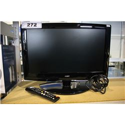 "19"" COBY TFT LCD TV, MODEL TFTV1925 WITH REMOTE"