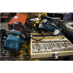 MAKITA PLANER, JIG SAW, ROUTER, & MORE