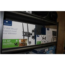 PAIR OF TV WALL MOUNTS & DESKTOP MONITOR MOUNT