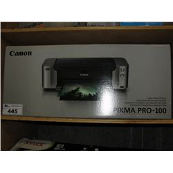 CANON PIXMA PRO-100 INKJET PHOTO PRINTER