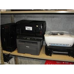 5 ASSORTED PRINTERS