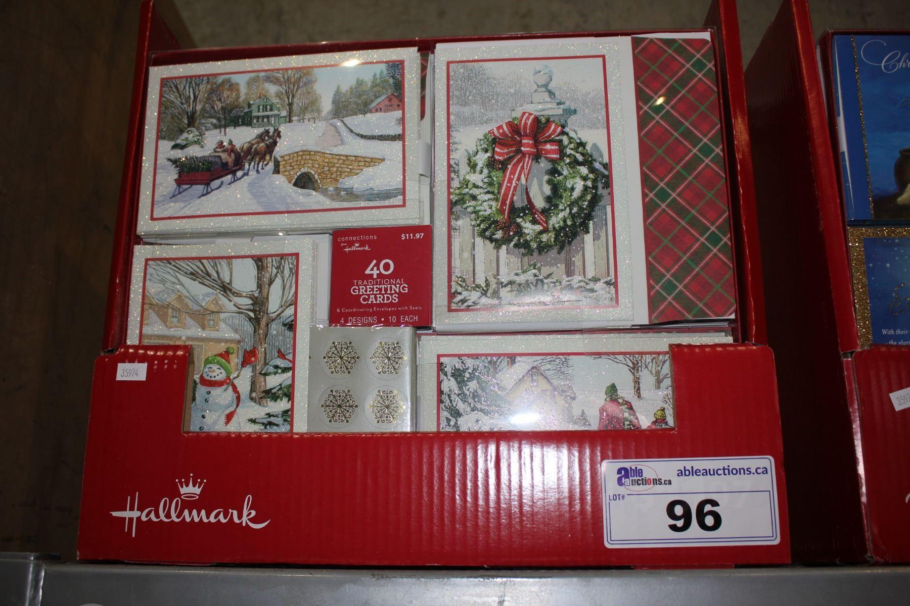 Hallmark Christmas Cards.Case Of 320 Hallmark Christmas Cards