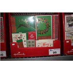 CASE OF 320 HALLMARK CHRISTMAS CARDS