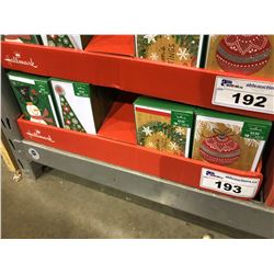 CASE OF 576 HALLMARK CHRISTMAS CARDS