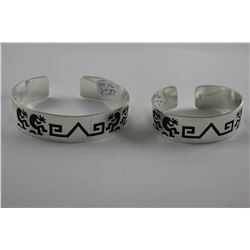 TWO ALPACA KOBI DESIGN CUFFS