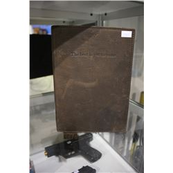 MANUFACTUS LEATHER JOURNAL - MADE IN ITALY