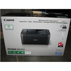 CANON PIXMA MX492 ALL IN ONE PRINTER