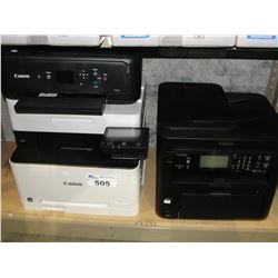 4 ASSORTED LASER & ALL IN ONE PRINTERS