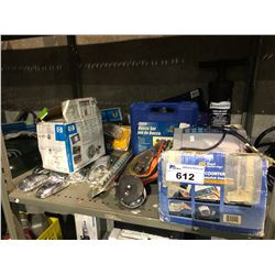 MONEY COUNTER, ASSORTED HOUSEHOLD & MORE