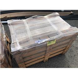 PALLET OF CREAM ANTICO TRAVERTINE 8 X 8 TILES - 148 SQ FT