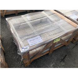 PALLET ANTIQUE PEWTER TRAVERTINE TILE 8 X 8 - 192 SQ FT