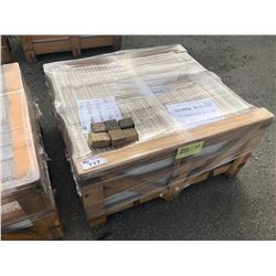 PALLET OF CREMA ANTICO TRAVERTINE TILE, 16 X 24 - 61 SQ FT & 6 X 16 - 93 SQ FT