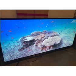 "SAMSUNG QMD SERIES 105"" LED TV WITH WALL MOUNT"