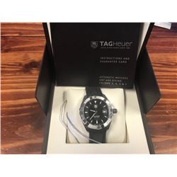 TAG HEUER AQUARACER BLACK DIAL MENS WATCH
