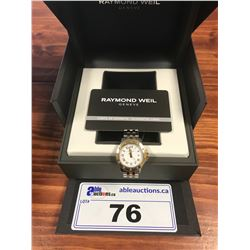 RAYMOND WEIL WOMANS TANGO WHITE DIAL WATCH