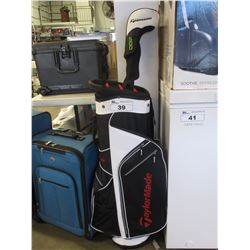 TAYLORMADE CADDY BAG & CLUB