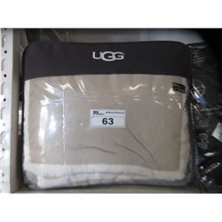 UGG BLANKET (SIZE UNKNOWN)