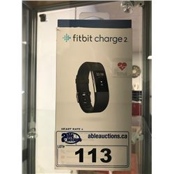 FITBIT CHARGE 2 FITNESS WRIST BAND (NO CHARGER)