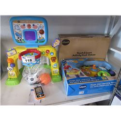 VTECH MULTISPORT INTERACTIVE, VTECH TOUCH & LEARN ACTIVITY DESK DELUXE & VTECH MAGIC STAR LEARNING
