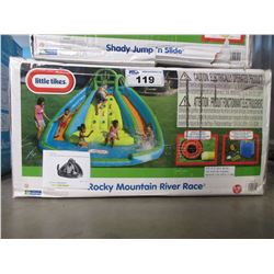 LITTLE TIKES ROCKY MOUNTAIN RIVER RACE INFLATABLE