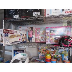DOLL HIGHCHAIR, EASY BAKE OVEN ULTIMATE, BARBIE ADVENT CALENDAR, HAPPY PLACE HAPPYVILLE HIGHSCHOOL,
