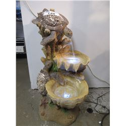 TURTLE WATER FOUNTAIN DISPLAY