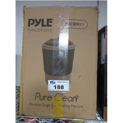 PYLE PURE CLEAN WASHING MACHINE MODEL PUCWM11