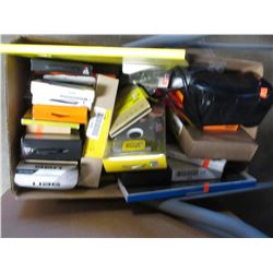 BOX OF ASSORTED CELLPHONE, TABLET CASES & ACCESSORIES