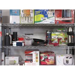 VEGGIE PRO, FOOD STORAGE CONTAINERS, WATER BOTTLES, THERMOS, COOKING PAN, ETC