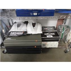 EXERCISE MATS, TATAMI FIGHTWEAR A2L/A1L KIMONOS, 2 BOXES OF RINGSIDE SHOES, M&B BOOTS